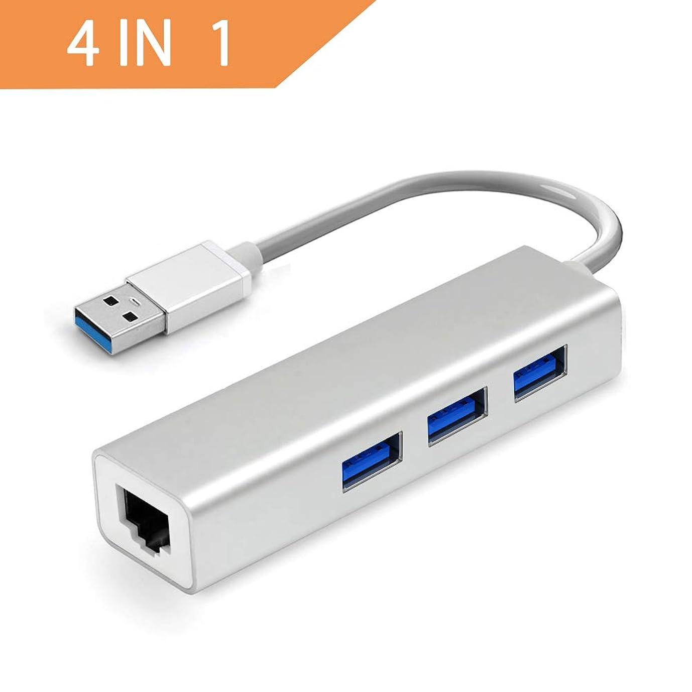 体の量津波USB C ハブ NOVOO USB3.0 TypeCアダプター HDMI SD MicroSD USB3.0 高速ポート*2 MacBook2016 MacBook Pro/ChromeBook対応 (グレー)
