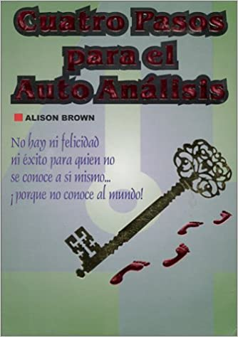 Cuatro pasos para el autoanálisis (Self Analysis)  (Spanish Edition): Alison Brown: 9789686801309: Amazon.com: Books