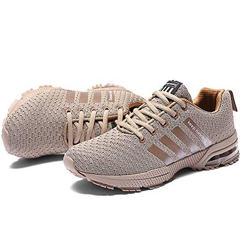 CHNHIRA Sport Couleurs de Femme Homme Trail Basket Compétition Course Entraînement Cinq Abricot Chaussures Running RZrfw6Rq