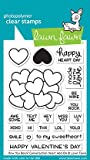 #4: Lawn Fawn LF1553 How You Bean? Conversation Heart Add-On Clear Stamp Set