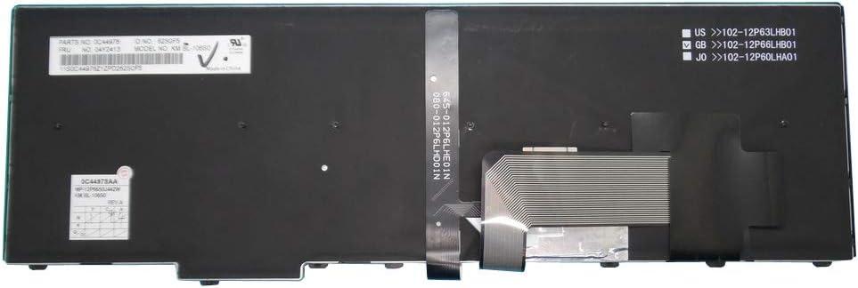 Laotop Keyboard for Lenovo Thinkpad E540 W540 T540P L540 E531 T550 T560 W550S P50S Sweden SD 04Y2413 0C44978 with Point Stick Backlit New