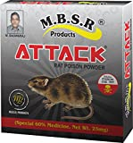 MBSR Products Attack Rat Poison Powder