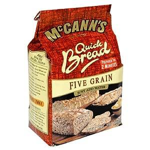 McCANN'S Quick Bread, Five Grain, 1-Pound Bags (Pack of 10)