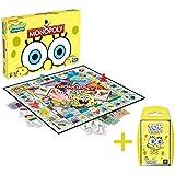 Monopoly SpongeBob Schwammkopf und Top Trumps SpongeBob