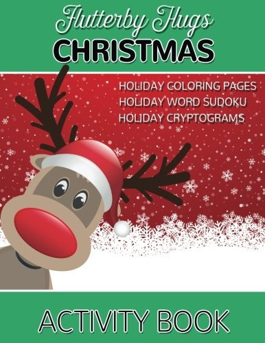 Flutterby Hugs Christmas Activity Book