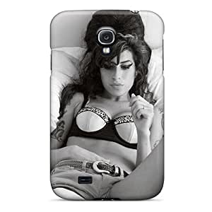 PhilHolmes Samsung Galaxy S4 Anti-Scratch Cell-phone Hard Covers Support Personal Customs Colorful Amy Winehouse Skin [LbA2248VpZO]