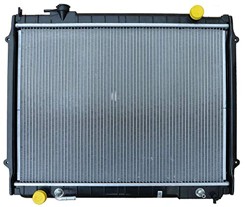 Replacement Radiator With Cap For Toyota Fits Tacoma 2.4 2.7 3.4 For 2Wd Only