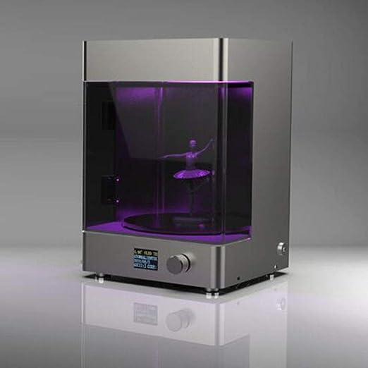 MEICHEN Impresora 3D llevó rotativo Cuadro de curado cámara de ...