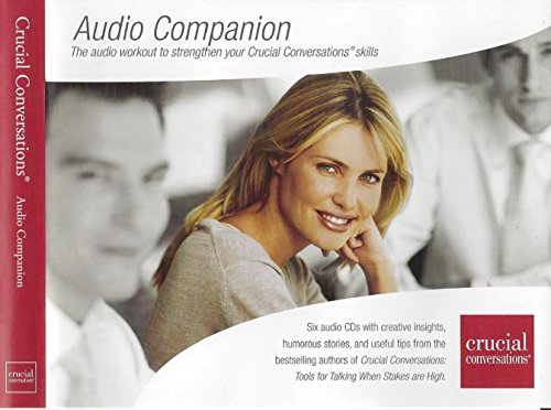 Crucial Conversations Audio Companion on 6 CD Set