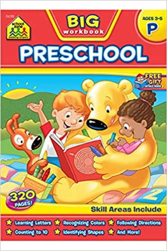 Free Worksheets pre school work : Work Books