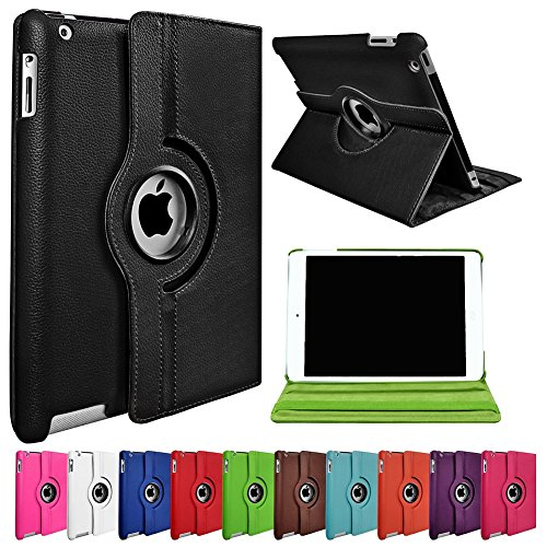 """myLife Mauve Purple {Executive Leather Design} 360 Degree Rotating Case for Apple iPad Air """"iPad 5G 5th Generation"""" (High Quality Koskin Faux Leather Cover + Slim Lightweight Design)"""