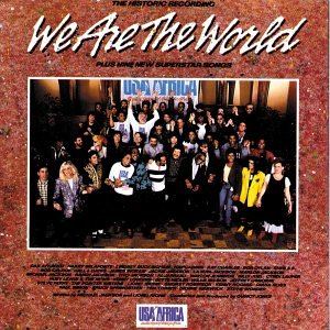 Africa Cd Album - We are the World