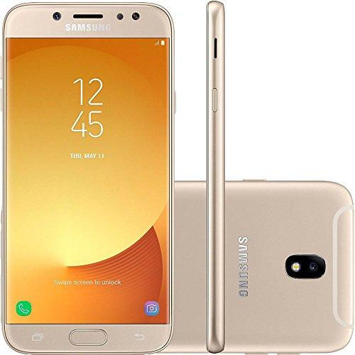 Smartphone Desbloqueado Galaxy J7 Pro, Samsung, SM-J730GZDBZTO, 64 GB, 5.5, Dourado
