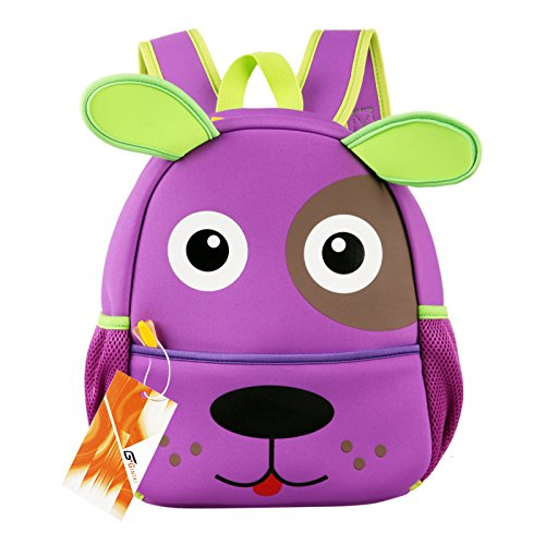 Purple Puppy Backpack