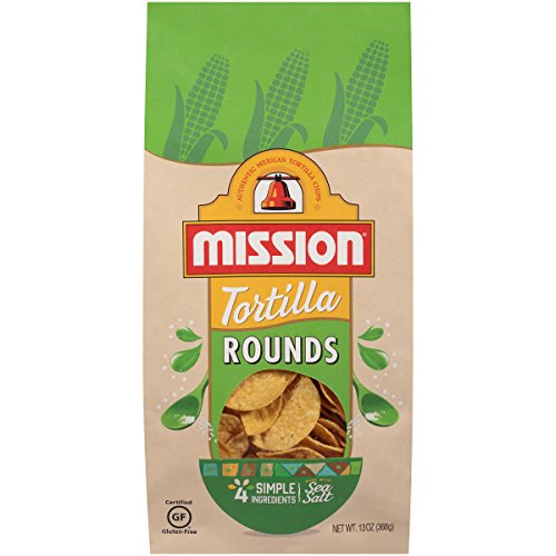 - Mission Tortilla Chips, Rounds, 13 oz