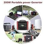 UKing-Generatore-Portatile-222Wh60000mAh-Accumulatore-di-Energia-con-DCAC-Invertitori-Caricato-da-Pannello-SolarePresa-a-Muro-per-Campeggio-Esterna-di-Backup-di-Emergenza