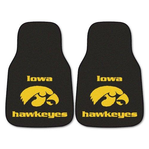 FANMATS NCAA University of Iowa Hawkeyes Nylon Face Carpet Car (Anaheim Vinyl Car Mats)