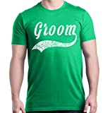 Best Shop4Ever Guys Gifts - Shop4Ever Groom T-Shirt Wedding Shirts Medium Irish Green Review