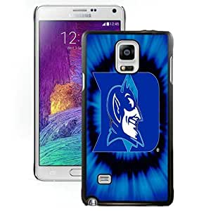 Hot Sale And Popular Samsung Galaxy Note 4 Case Designed With duke blue devils 02 Samsung Note 4 Phone Case