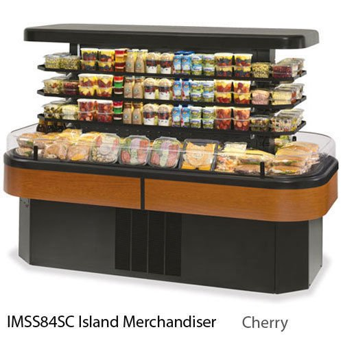 Federal Industries IMSS84SC-3 Specialty Display Island Self-Serve Refrigerated M