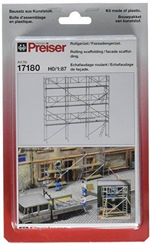 Preiser 17180Equipo de Construcción Andamios Kit HO Scale Estructura Scenery Set