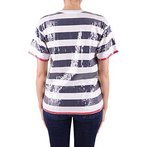 Alberta Coton Ferretti J071001951318 shirt Bleu T Femme rI6wPqCxr