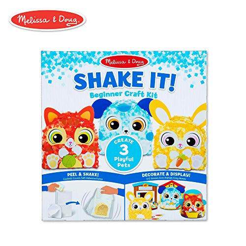 Melissa & Doug Shake It! Deluxe Pets Beginner Craft Kit