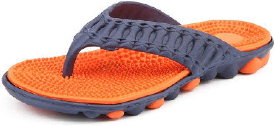 Nwarmsouth Drain Quick Bathroom Mule, Chanclas de Playa para Hombres, Sandalias de baño Antideslizantes y Zapatillas de baño, Blue Orange_44, Pool Water Shoes: Amazon.es: Deportes y aire libre