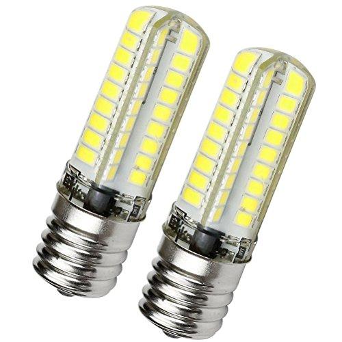 Kakanuo E17 LED Bulb Microwave Oven Light Dimmable 5 Watt Daylight White 6000K Intermediate Base AC110-130V (Pack of 2)