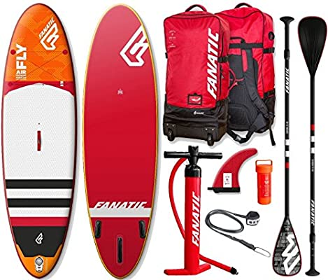 Fanatic Fly Air Premium 9.8 Hinchable SUP WINDSURF TABLA SURF de ...
