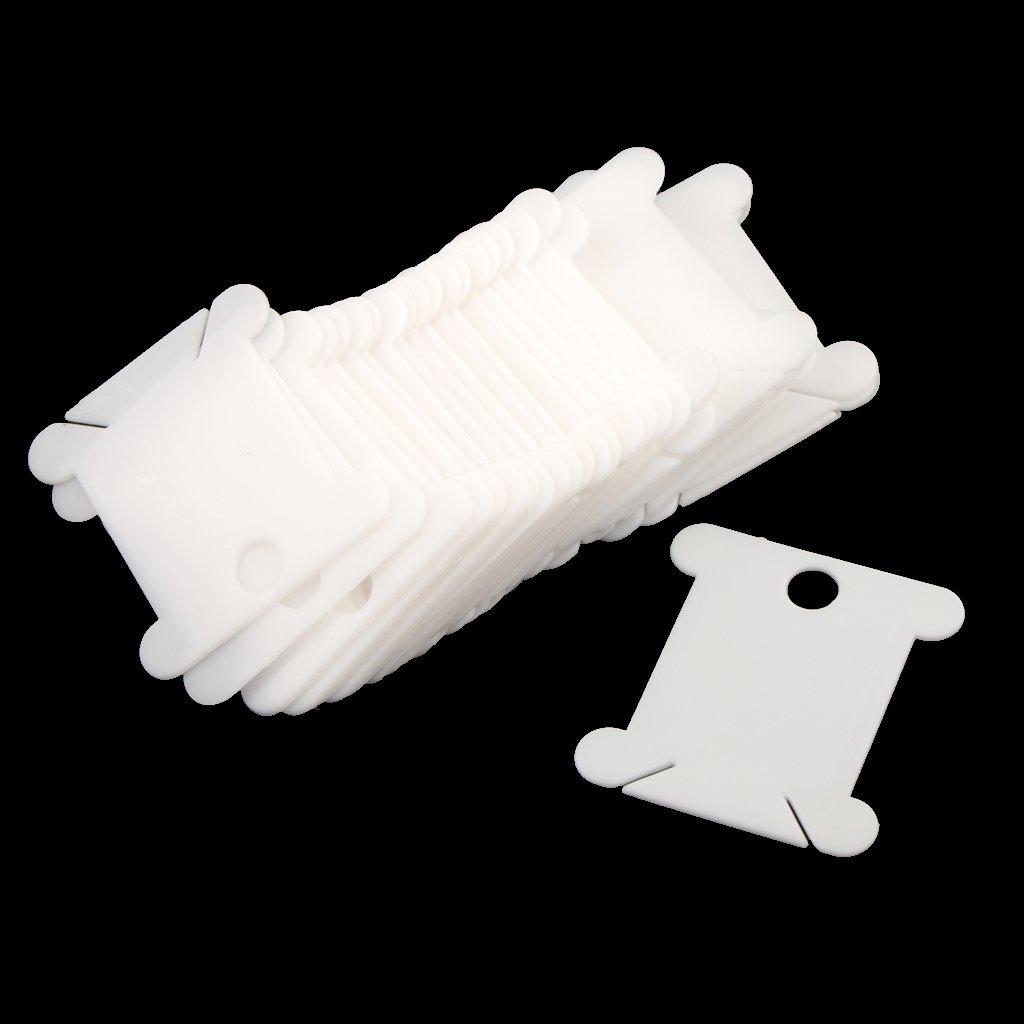 MonkeyJack Hand Operated Yarn Wool Thread Winder Holder Tool Machine with 30 Pieces Plastic Bobbins