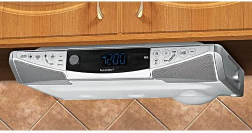 GE 75330 Spacemaker AM/FM CD Player with Weather Band and Remote