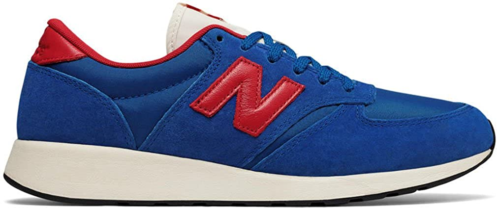 Blau rot New Balance Herren Buty 420 Re-Engineerot Suede Zehenkappen