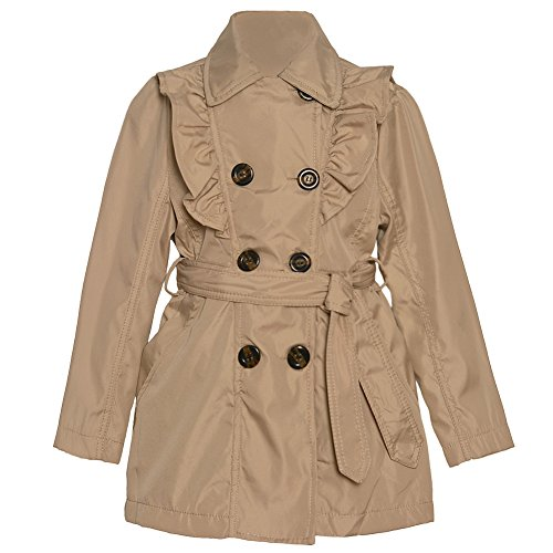Ruffled Double Breasted Jacket - 6