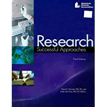 Research: Successful Approaches For the Nutrition and Dietetics Professionl