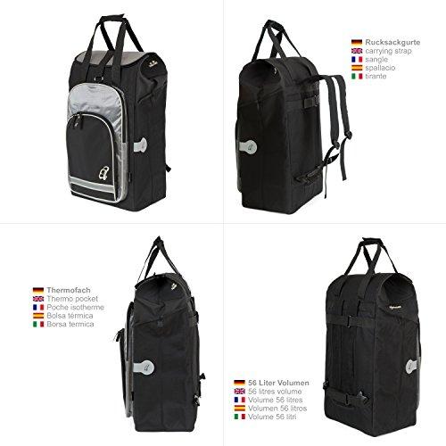 Andersen Alu Star Shopper mit Tasche Hydro schwarz