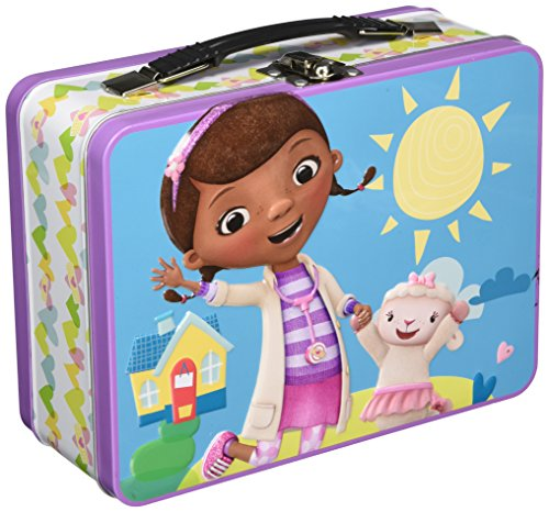 Doc Mcstuffins Lunch Box (Disney Jr. Doc Mcstuffins Large Tin)