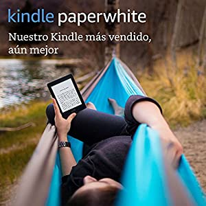 "E-reader Kindle Paperwhite, pantalla de 6"" (15,2 cm) de alta resolución (300 ppp) con luz integrada, wifi (Negro)"