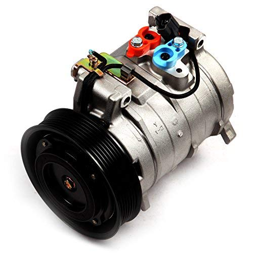 Air Compressor Conditioning Honda (ECCPP A/C Compressor with Clutch fit for 2003-2007 Honda Accord 2.4L CO 104025 Car Air AC Compressors Kit)