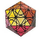 MF8 Eitan's Star Black Icosahedron Face Turning Magic Cube Puzzle 20 Sided Toy