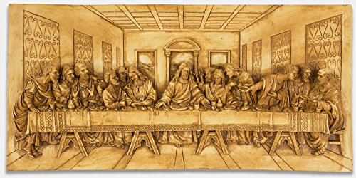 The Last Supper Large Wall Scuplture