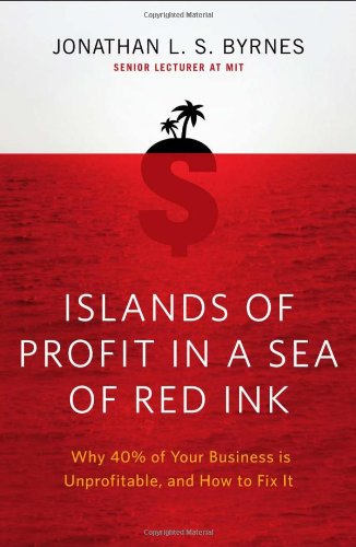 Islands of Profit in a Sea of Red Ink: Why 40 Percent of Your Business Is Unprofitable and How to Fix It cover
