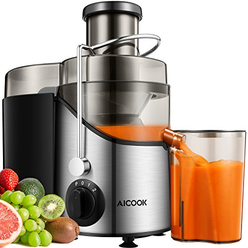 Used, Juicer Juice Extractor, Aicook 3'' Wide Mouth Stainless for sale  Delivered anywhere in USA