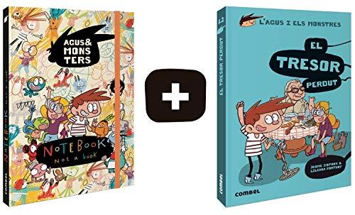 PACK Llibreta monstruosa i El tresor perdut (L'Agus i els monstres) por Copons Ramon, Jaume,Fortuny Arnella, Liliana