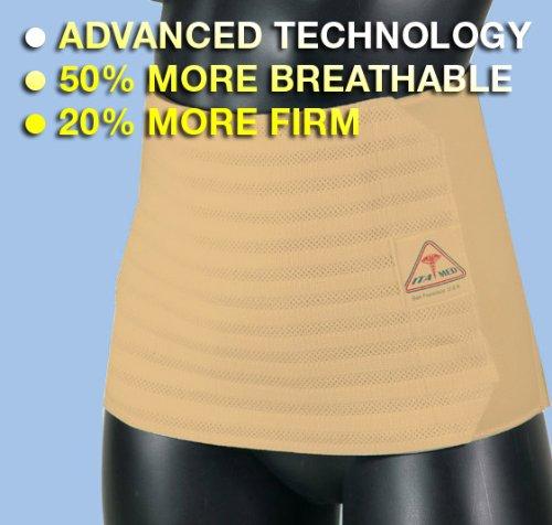 ITA-MED Gabrialla Breathable Abdominal Support Binder-Bei...