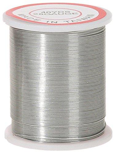 Darice 28 Gauge Beading 80 Yard Silver