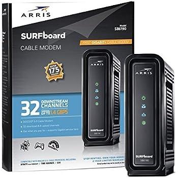 Amazon com: Arris Touchstone Panoramic TG1682G Wireless Telephony