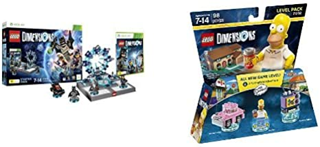 LEGO - Starter Pack Dimensions (Xbox 360) + Level pack: The ...