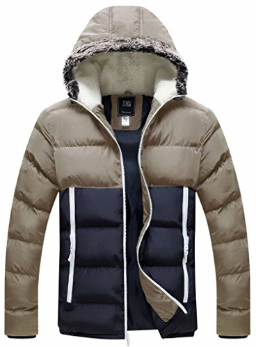 Nylon Hooded Coat - 5
