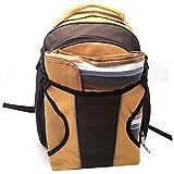 HONGLIAN Picnic Backpack Outdoor Backpack Camping Picnic Tableware Portable Set 433716cm (Color : Orange, Size : 433716cm)